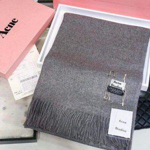 Acne studios Grey woollen shawl